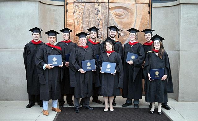 MA Graduation Photo