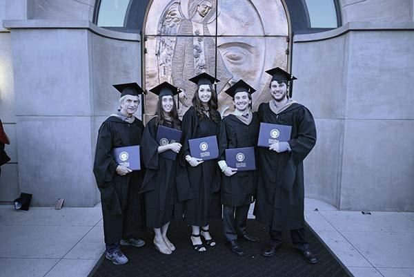 MBA Graduation Photo