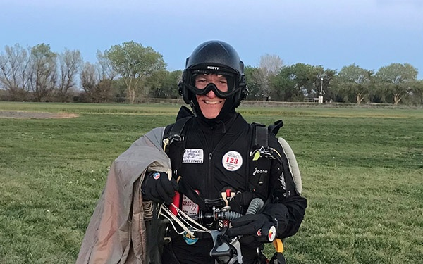 JPCatholic Professor Sets Skydiving World Record