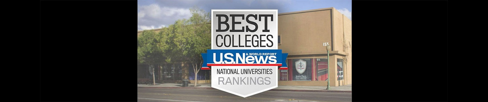 Ranked #12 by U S  News for Best Regional Colleges West